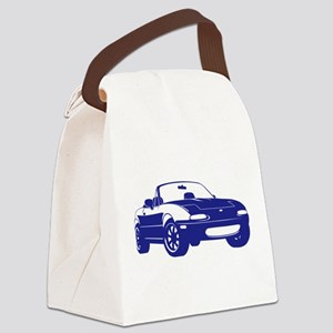 NA Blue Canvas Lunch Bag
