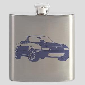 NA Blue Flask