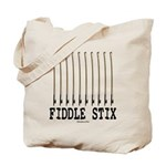 Fiddle Stix Tote Bag