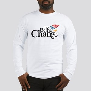 Be the Change - Earth - Red Vine Long Sleeve T-Shi