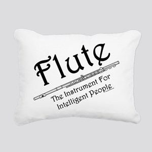 Flute Rectangular Canvas Pillow
