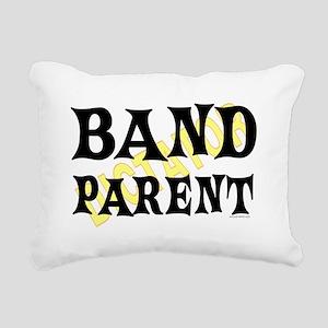 Band Parent Rectangular Canvas Pillow