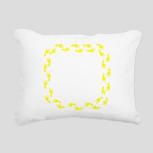 GrayFxWhHomeBL Rectangular Canvas Pillow