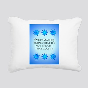 GeoFlak_Out3 Rectangular Canvas Pillow