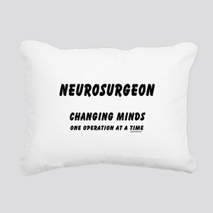 gray3TxtNeuChangMin... Rectangular Canvas Pillow