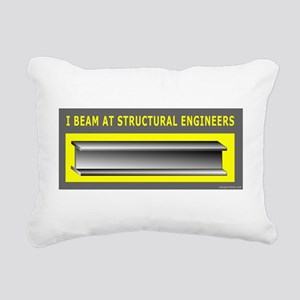 IBeam2T_c Rectangular Canvas Pillow