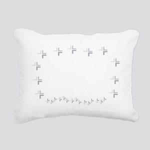 BlkEEposCharg Rectangular Canvas Pillow