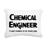Chemical Engineer Zombie Figh Rectangular Canvas P