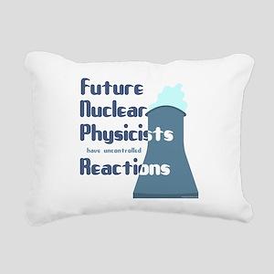 futureReact Rectangular Canvas Pillow