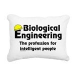 Smart Biological Engineer Rectangular Canvas Pillo