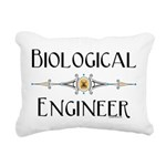 Biological Engineer Line Rectangular Canvas Pillow