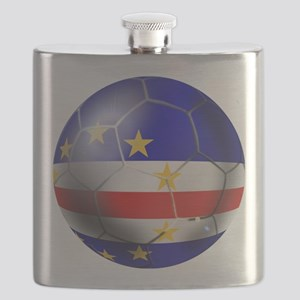 Cabo Verde Football Flask