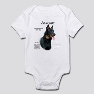 Beauceron Baby Light Bodysuit