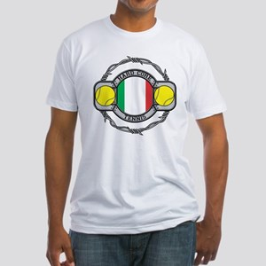 Italy Tennis Fitted T-Shirt