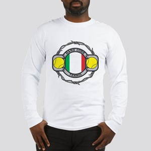 Italy Tennis Long Sleeve T-Shirt