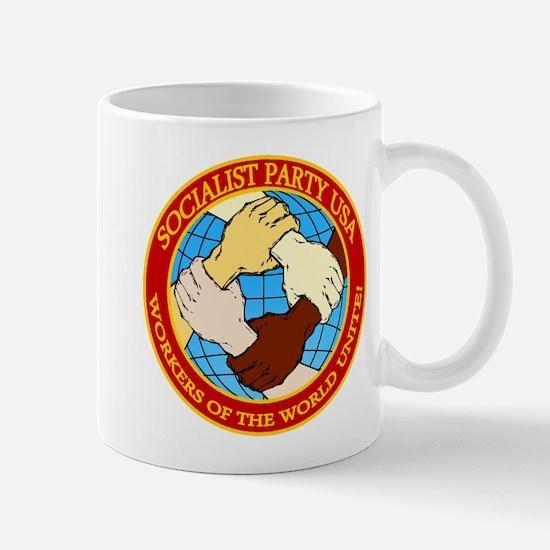 Socialist Party USA Logo Mug