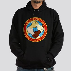 Socialist Party USA Logo Hoodie (dark)