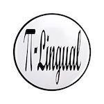 "Pi Lingual Funny Math 3.5"" Button"