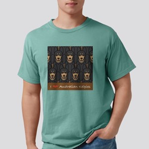 ausKelpieLove_tshirtBlac Mens Comfort Colors Shirt