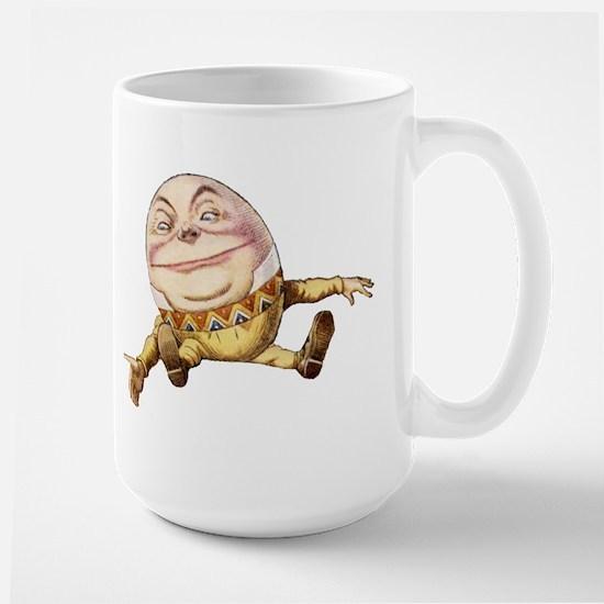 Humpty Dumpty Sat On a Wall Large Mug