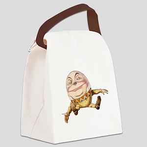 Humpty Dumpty Sat On a Wall Canvas Lunch Bag