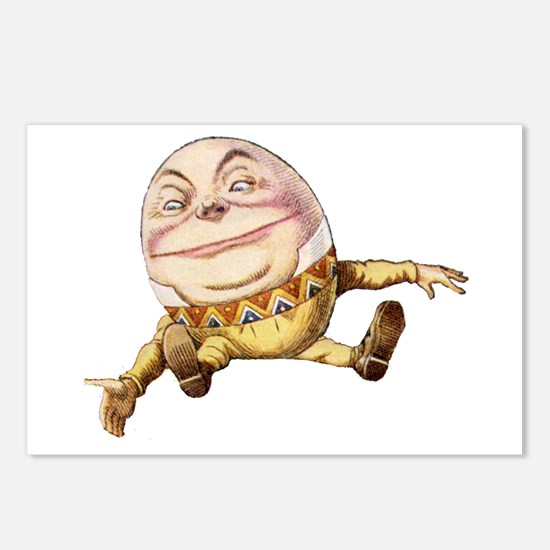 Humpty Dumpty Sat On a Wall Postcards (Package of
