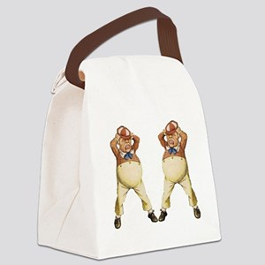 Tweedledee and Tweedledum Canvas Lunch Bag
