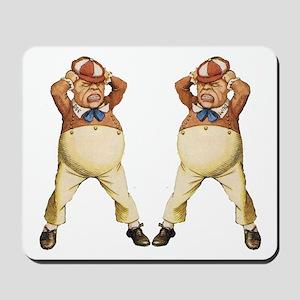 Tweedledee and Tweedledum Mousepad