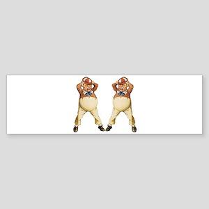 Tweedledee and Tweedledum Sticker (Bumper)