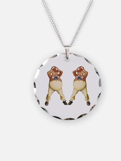 Tweedledee and Tweedledum Necklace