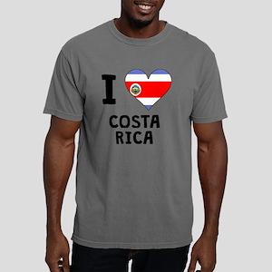 I Heart Costa Rica Mens Comfort Colors Shirt