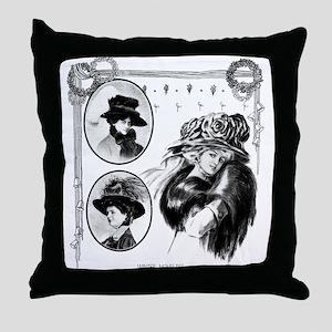 1908 Winter Novelties Throw Pillow