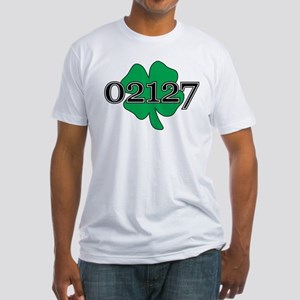 02127 Southie, Boston Fitted T-Shirt