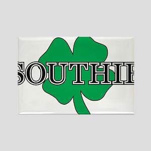 """Southie"" South Boston, Massachusetts Rectangle Ma"