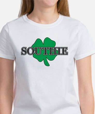 """Southie"" South Boston, Massachusetts Women's T-Sh"