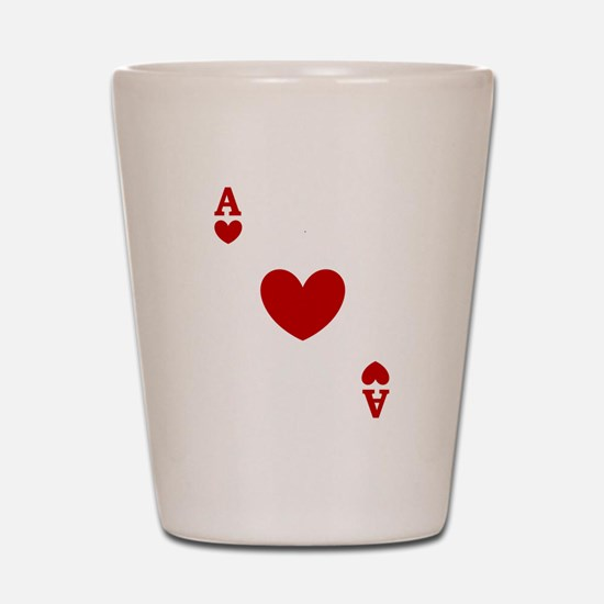 card ace of hearts.png Shot Glass