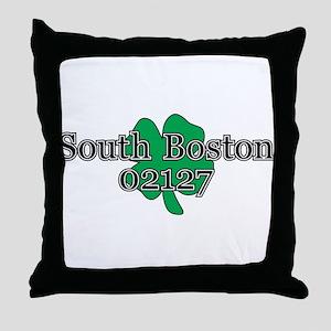 South Boston, 02127 Throw Pillow