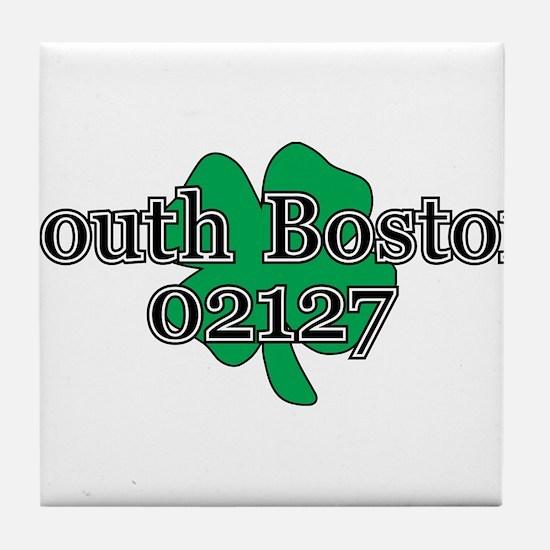 South Boston, 02127 Tile Coaster