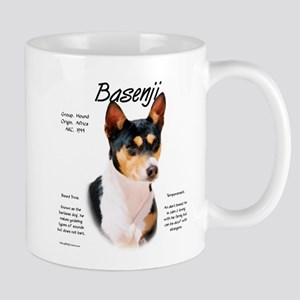 Basenji (tricolor) 11 oz Ceramic Mug