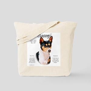 Basenji (tricolor) Tote Bag