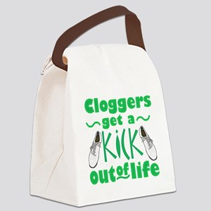 Cloggers Get a Kick Out of Life Canvas Lunch Bag