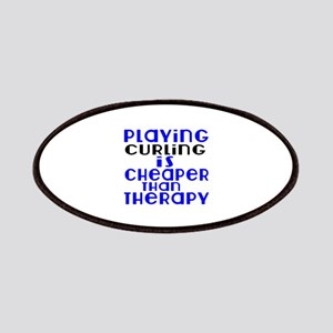 Curling Is Cheaper Than Therapy Patch