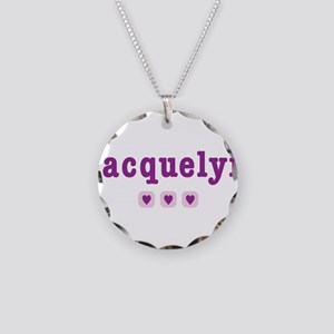 jacquelyn Necklace Circle Charm