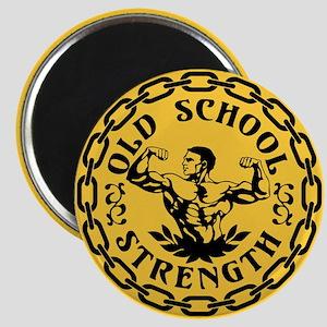 Old School Strength Vintage Magnet