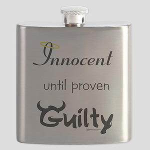Innocent....Guilty Flask