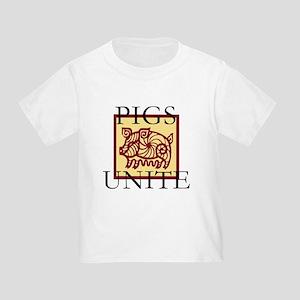 Pigs Unite Toddler T-Shirt