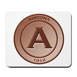 Copper Arizona 1912 Logo Mousepad