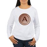 Copper Arizona 1912 Logo Women's Long Sleeve T-Shi