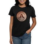 Copper Arizona 1912 Logo Women's Dark T-Shirt