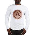Copper Arizona 1912 Logo Long Sleeve T-Shirt